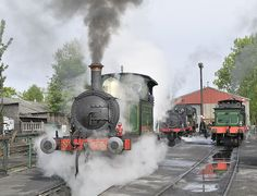 The Kent and East Sussex Railway in Tenterden is one of the longer steam railways - it is 11 miles long, and even serves Bodiam Castle! http://www.aboutbritain.com/KentEastSussexSteamRailway.htm