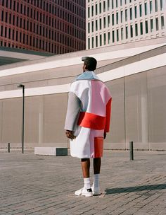 """Edward Cuming from IED presents his Graduate Collection, featuring Marçal Taberner at UNO, Claudia Coll at TRAFFIC, Jean Phillip Happi at 5th AVENUE and Kofi Adoko shot by Javier Castán. The collection titled """"Colour Me In"""" won... »"""