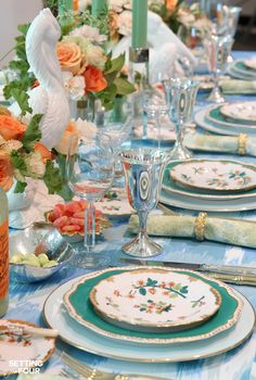 Eddie Ross reveals his insider secrets:how to create a breathtaking table setting for a memorable dining experience! You'll LOVE these entertaining ideas!