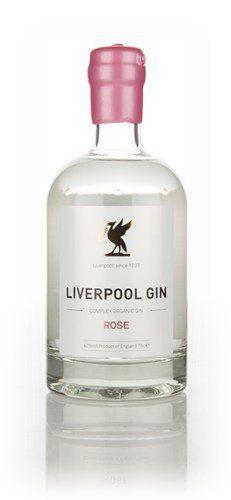 Liverpool Gin Rose Gin (Gin Bottle Design)