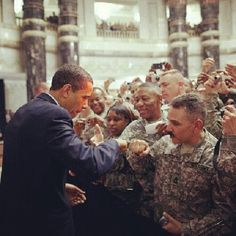 President Barack Obama has the concern for the people, for our troops and for our future. Big money corporations running the republican party are attempting to derail his reforms. Vote in 2014 and give him a congress he can work with.