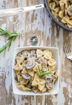 Vegan Mushroom Stroganoff Recipe   One Ingredient Chef