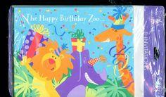 THE HAPPY BIRTHDAY ZOO Birthday Invitations 8/8 - New Vintage Studio