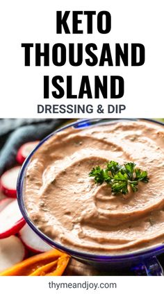 Make this homemade Thousand Island Dressing that is 1000x times better than store-bought. Made with simple keto, paleo and Whole30 ingredients, this tangy sauce is a useful condiment to have on hand -great on reubens, salads, burgers and as a zesty fry sauce.
