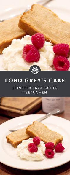 Feinster Englischer Teekuchen mit Schwarztee.  Vanille rundet das Geschmackserlebnis dabei gekonnt ab. Dieses englische Teekuchen-Rezept sollte man auf jeden Fall ausprobieren!