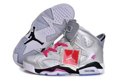 4b258ea6c3276a Buy Air Jordan 6 (VI) Retro Women New 2013 Shoes Sliver pink Black White  Top Deals from Reliable Air Jordan 6 (VI) Retro Women New 2013 Shoes  Sliver pink ...