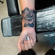 Image result for rose tattoo wrist pictures