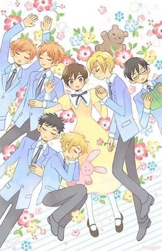 ouran host club poster - Google Search