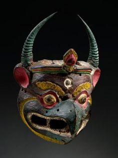 Garuda Mask - Bhutan, 18th/19th century