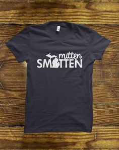 Mitten Smitten Michigan T-Shirt