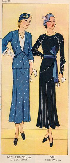 1932 fashions