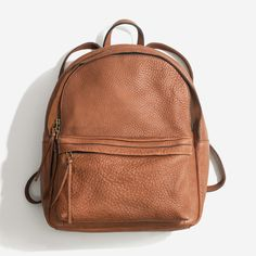 The Lorimer leather backpack - in the name of full transparency, this is an affiliate link :)