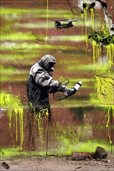 Streetart Berlin - Plotterroboter Ken by URBAN ARTefakte, via Flickr
