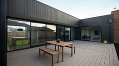 Dwell Homes mod 3 House Cladding, Exterior Cladding, Facade House, House Exteriors, Beach Bungalow Exterior, Box Houses, Shed Homes, Timber House, Prefab Cabins