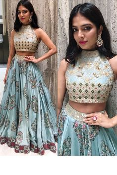 Kt 2108 Designer Taffeta Silk With New Lehenga Collection Lehenga Choli Designs, Indian Lehenga, Indian Wedding Outfits, Indian Outfits, Lehenga Hairstyles, Indian Gowns Dresses, Prom Dresses, Wedding Dresses, Lehnga Dress