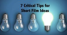 7 CRITICAL tips on short film ideas & FREE download of the first chapter of Roberta Munroe's book, How Not to Make a Short Film. #shortfilms #screenwriting