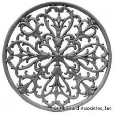 Gothic Cast Iron Wall Decor