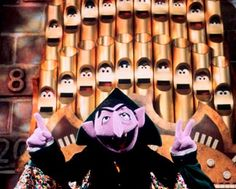 "The Pipe Organ belongs to Count von Count on Sesame Street. After being a featured prop and significant part of the Count's castle for several years, the pipe organ became a character in Season 33, joining the Count in the ""Number of the Day"" segments, as each individual pipe would open its eyes and sing according to its number."
