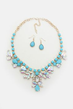 Sadie Necklace in Turquoise on Emma Stine Limited