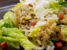 Killer Caesar Salad with Oyster Croutons : Recipes : Cooking Channel