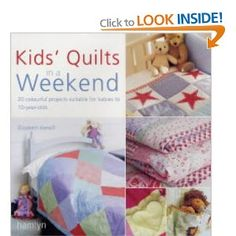 I made my first quilt (and first ever sewing project) using this book. I absolutely treasure it. Jen