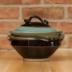 Casserole in Copper | Black Glaze – Royce Yoder