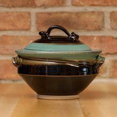 Casserole in Copper | Black Glaze – Royce Yoder