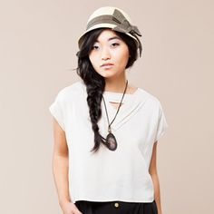 San Jorge Top Pearl, $45, now featured on Fab.