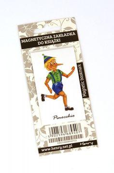 Zakładka magnetyczna. Pinokio  #zakładki #książki #gadżety  http://bookinista.pl/Zakladka-magnetyczna-Pinokio,p,122260
