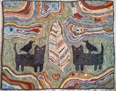The Grinning Sheep  - magdelena cats