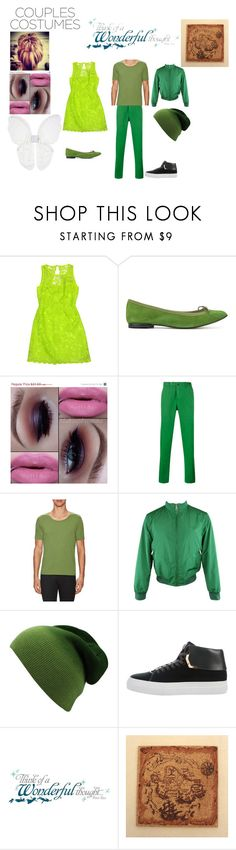 """""""Tinkerbell and Peter Pan"""" by faithful-promise ❤ liked on Polyvore featuring Laundry, Repetto, PT01 Pantaloni Torino, Goodlife, Burberry, BUSCEMI and York Wallcoverings"""