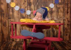 ©2014 www.ryetanphotosbytiffany.com Newborn | #airplane #babyboy