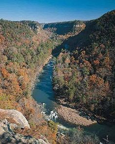 Little River Canyon is the deepest river gorge in the U.S. besides the Grand Canyon.