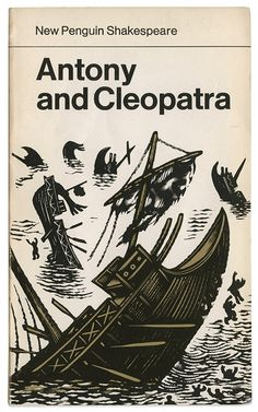 Antony and Cleopatra - Maraid Design - David Gentleman - New Penguin Shakespeare books Book Cover Art, Book Cover Design, Book Design, David Gentleman, Vintage Penguin, Penguin Classics, Beautiful Book Covers, Book And Magazine, Penguin Books