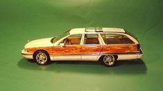 Buick Roadmaster flames in wood grain
