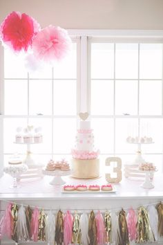 Pink and Gold Party  | Kids party | Kids party ideas | Kids party food | Kids party games | Kids party favors | Kids' party ideas | Kids party ideas for girls | Kids party ideas for boys | Kids party ideas themes