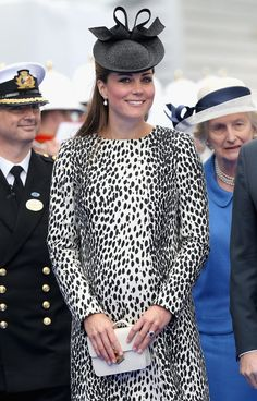 Kate Middleton Christens Royal Princess Ship. Next Up, Maternity Leave?  On Thursday, Kate Middleton made what's believed to be her last official solo appearance before the birth of her child. The event  is available to watch on the Princess Cruise website.   http://www.princess.com/royalprincessnaming/index.html#.Ubnq-07n9LM