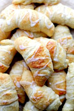 These unbelievably easy Lemon Cheesecake Crescent Rolls are sure to be a big hit with you and your family. The soft, flaky crescent rolls are topped with a sugary glaze and are stuffed with cream cheese filling.