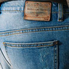 En destroy Vêtements Cuir Jean xAznw6XZq Homme denim Homme Étiquette Bleu Slim Jules OPn0w8kX