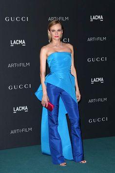 Diane Kruger tiene matrícula de honor con este estilismo