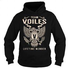 Team VOILES Lifetime Member - Last Name, Surname T-Shirt - #gift table #hoodies
