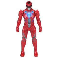 Mighty Morphin Power Rangers Movie Morphin Grid Action Figure - Red Ranger
