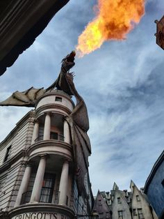 Harry Potter Dragon, Harry Potter World, Real Fire, Fantasy Dragon, Dragons, Gingerbread, Creatures, Tattoos, Travel