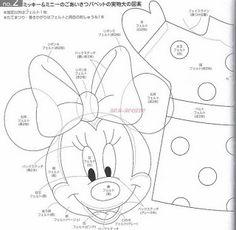 Arte e Venda - By Adriana Passos: Molde Minnie e Mickey Para E.V.A