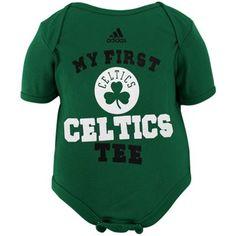 Boston Celtics Newborn My New First Creeper!