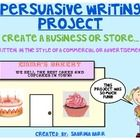 Persuasive Writing - Do you want a writing Project that will excite your students?  Then this is the Writing Unit for you!  This Writing assignment is to be ...