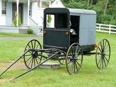 Amish Closed Buggy - Ordnung prohibits the Amish from owning or driving a motorized. The Amish may request a neighbor to drive them, or may hire a driver and rent a car. The Amish may not travel on an airplane.