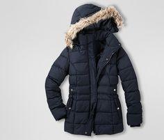 Mit Stil durch den #Herbst: #Outdoorjacke mit abnehmbarer #Kapuze für €49,95 bei…