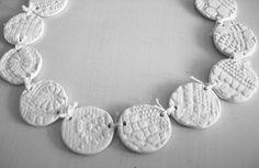 ceramic necklace - dora haralambaki