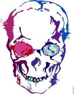 Color Skull.
